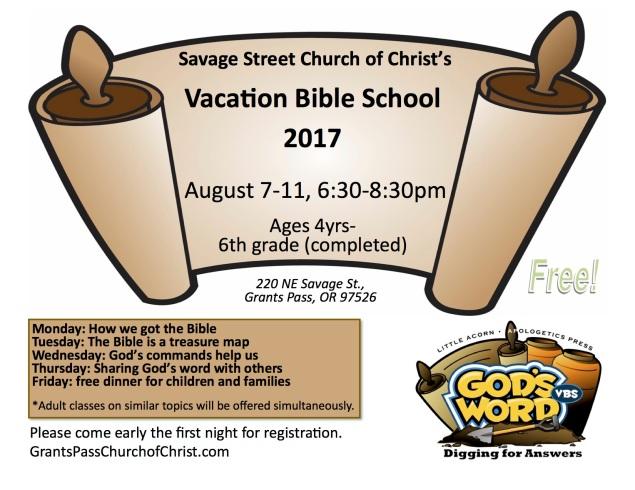Savage Street Church VBS