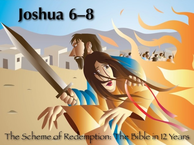 Joshua 6-8 Color