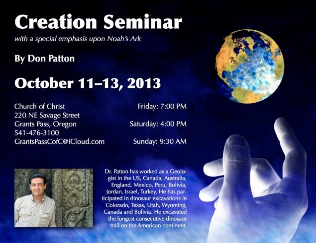 Seminar 2013 Flyer