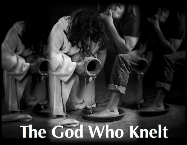 The God Who Knelt 50 percent reduced