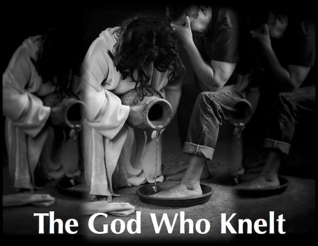 The God Who Knelt 50 percent reduced