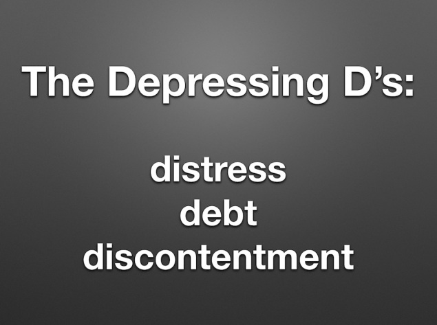 The Depressing Ds