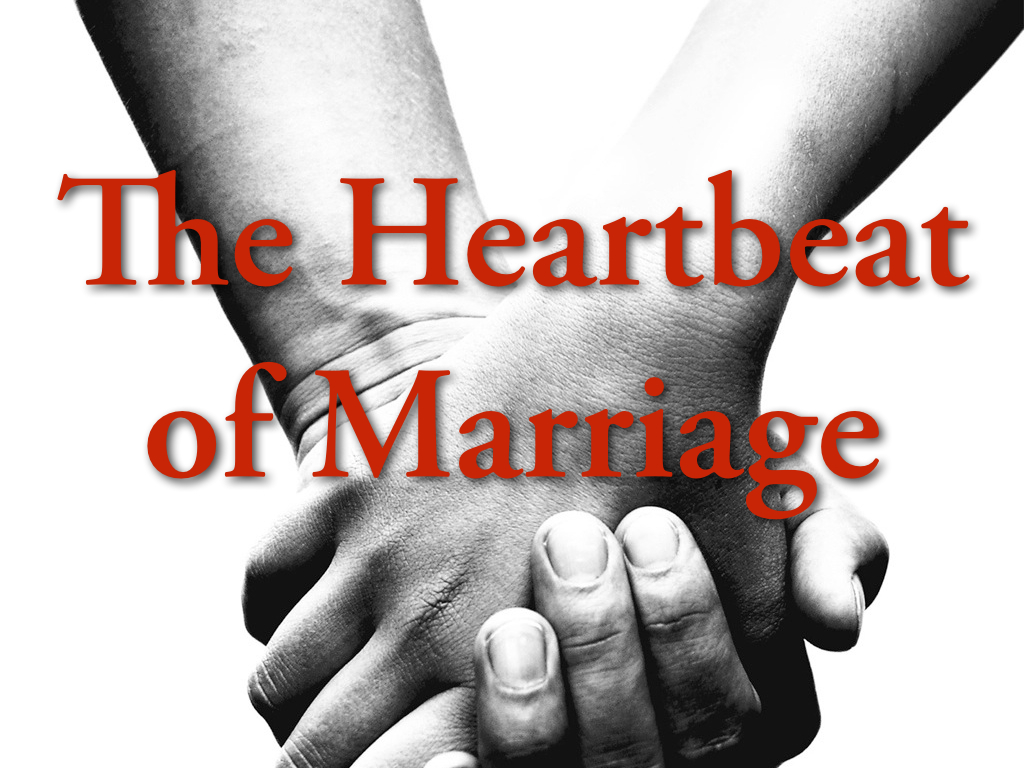 Sermon The Heartbeat Of Marriage 171 The Savage Street