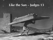 Judges 13 B&W Small