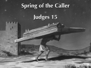 Judges 15 B&W Small