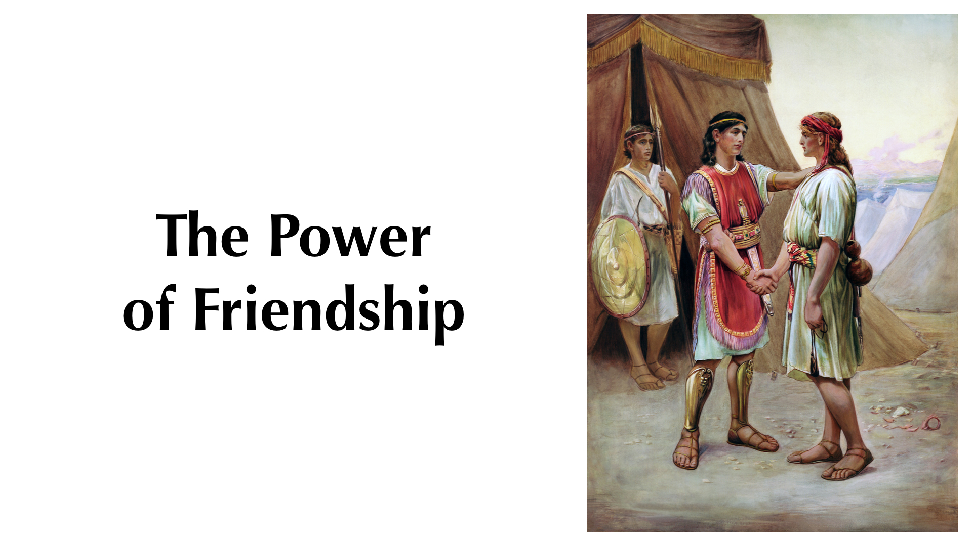 the power of friendship The power of friendship by jason anderson pain is the feeling you endure  when you are alone it is great torture when you have no friends at.