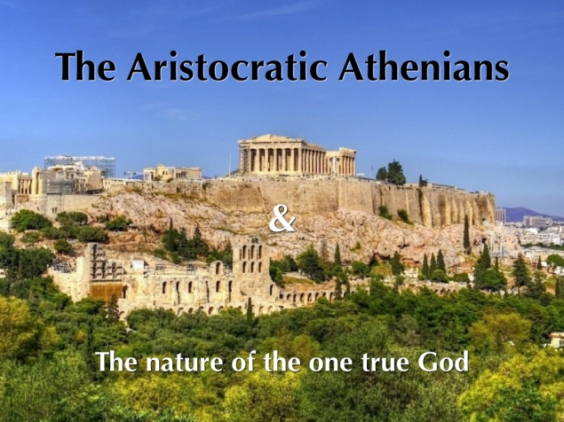 The Aristocratic Athenians