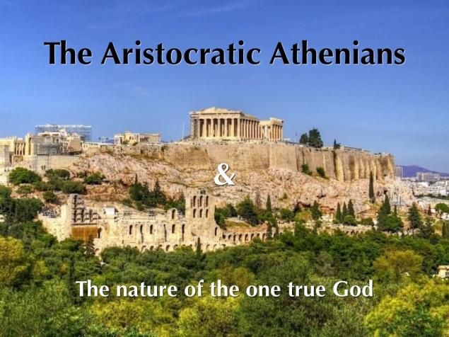 The Aristocratic Athenians