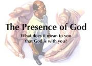 The Presence of God « Savage Street Church of Christ
