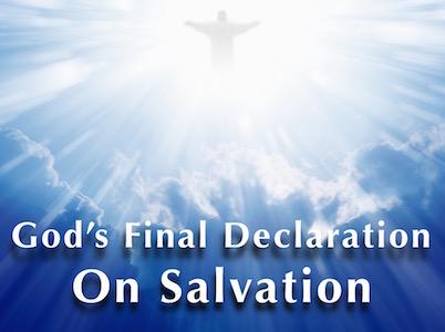Declaration on Salvation Featured Image
