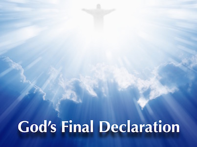God's Final Declaration Featured Image