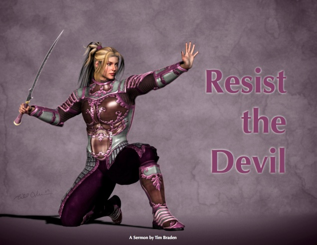 Resist The Devil Image