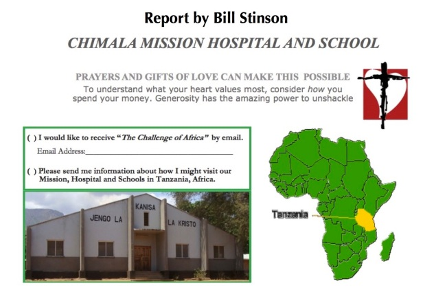 Chimala Mission Report Images