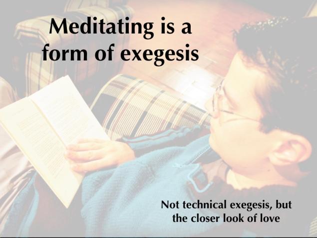 Meditation Lesson 4.029