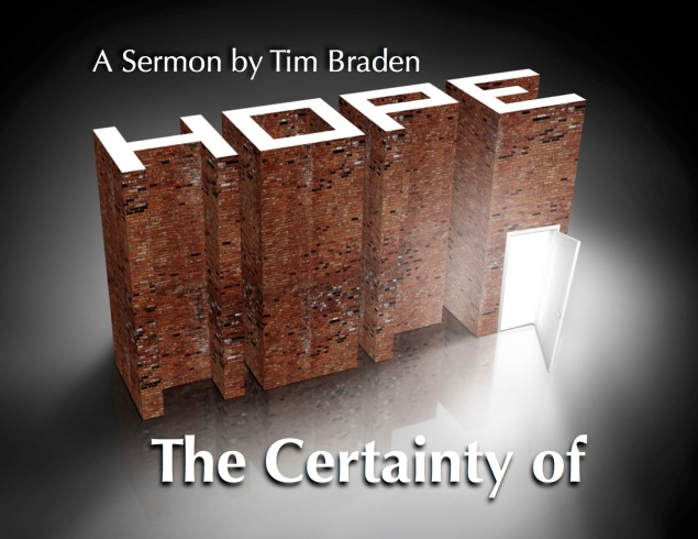 The Certainty of Hope Images