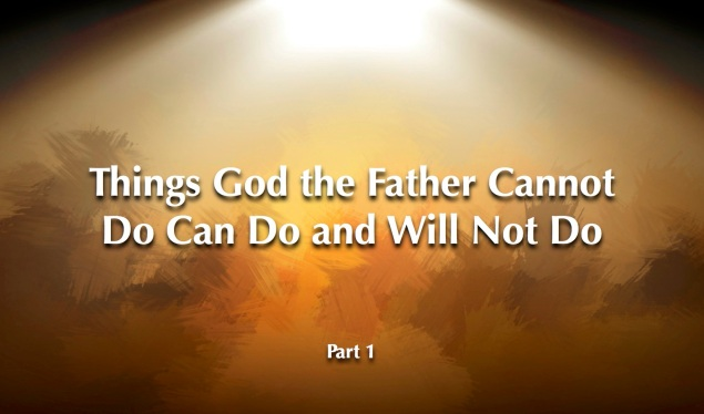 Things God Cannot Do Images