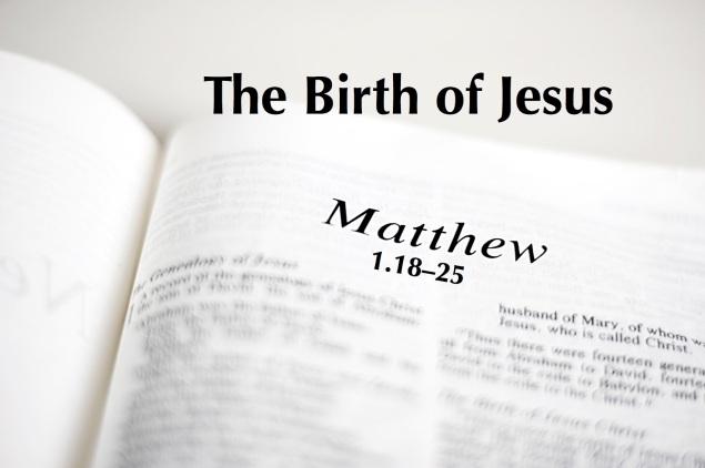 Matt 1.18-25 Images