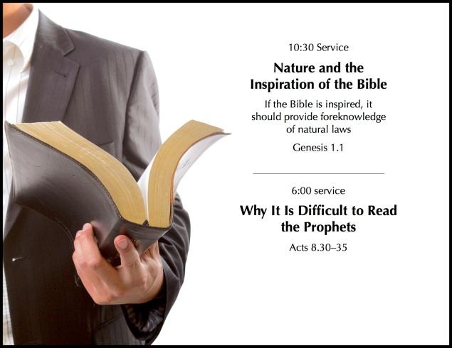 Upcoming Sermons Web Page