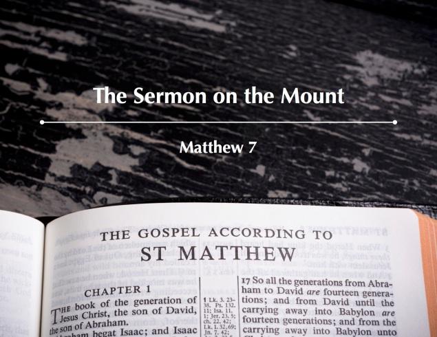 Matthew 7 Images