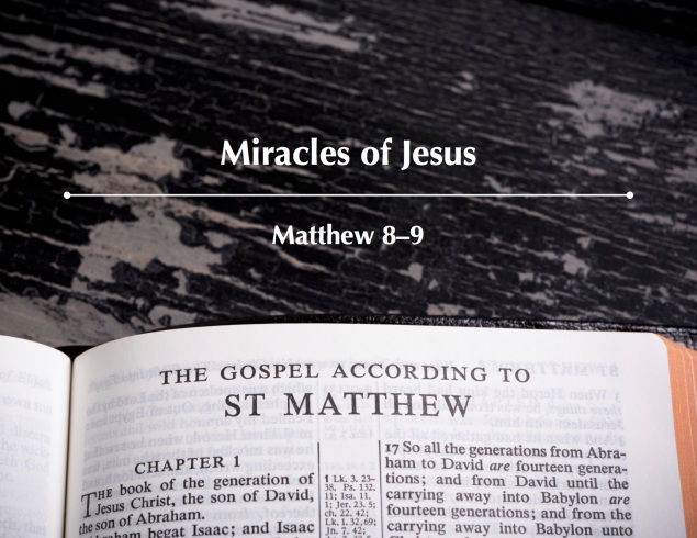 Matthew 8-9 Images