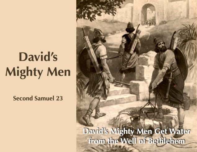 Davids Mighty Men Images