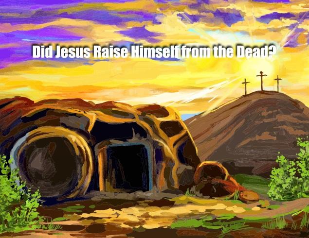 Jesus Self-Resurrection