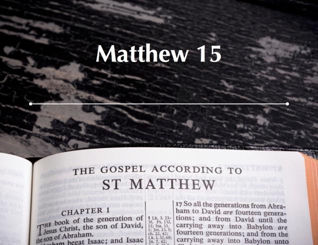 Matthew 15 Images