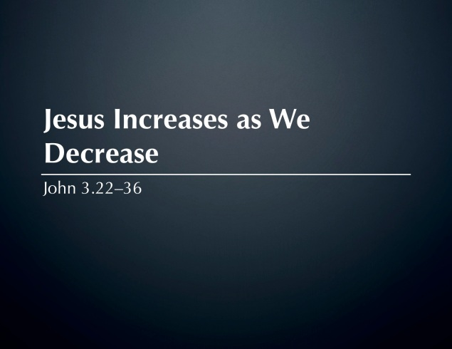 Jesus Increases Images
