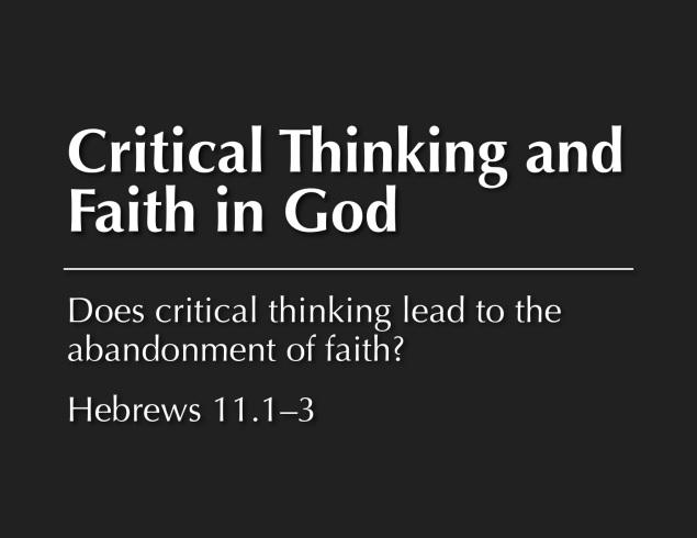 critical thinking image
