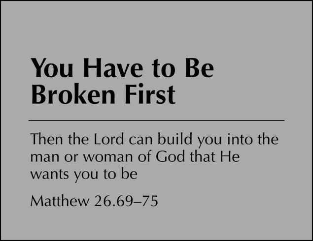 Be Broken Image