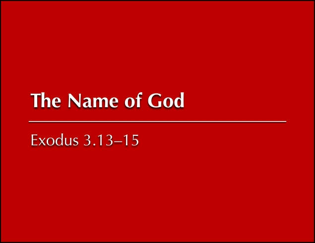 Name of God Image